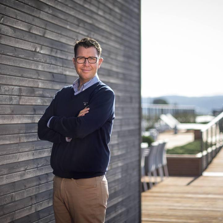 CFO og konst. administrerende direktør i Vestaksen Eiendom, Sindre Juel Berg.